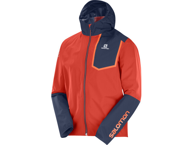 Salomon M's Bonatti Pro WP Jacket Fiery Red/Night Sky